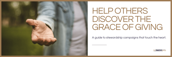 Help Others Discover The Grace Of Giving