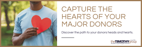 Capture Hearts of Major Donors
