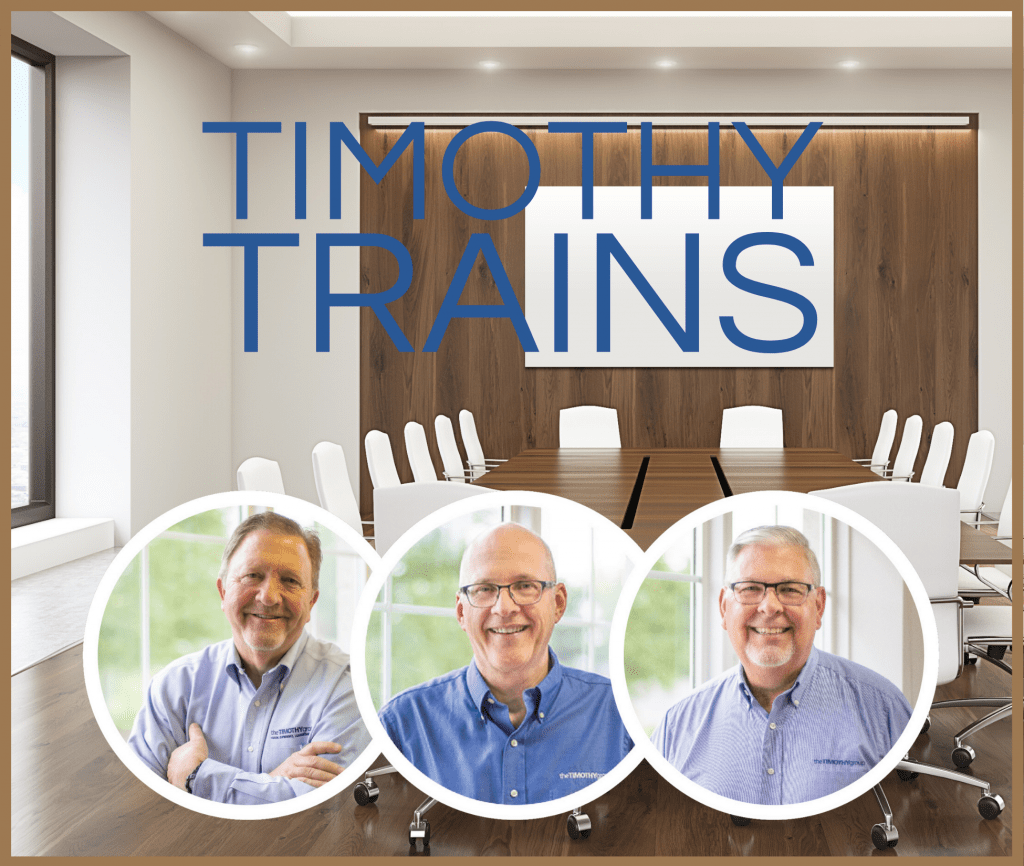 The Timothy Group Video Learning Series & Live Forums