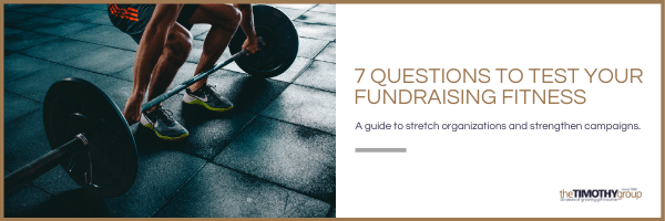 Test Your Fundraising Fitness