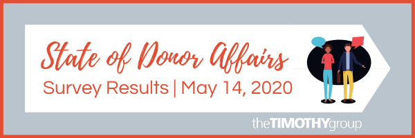 State Of Donor Affairs Survey Results