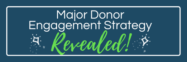 Major Donor Engagement Strategy Revealed!